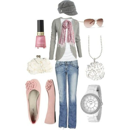 girly i know...but i love pink and gray.: Hats, Shabby Chic, Color, Soft Pink, Cute Outfits, Pale Pink, Pink Grey, Pink Shoes, Pink And Gray