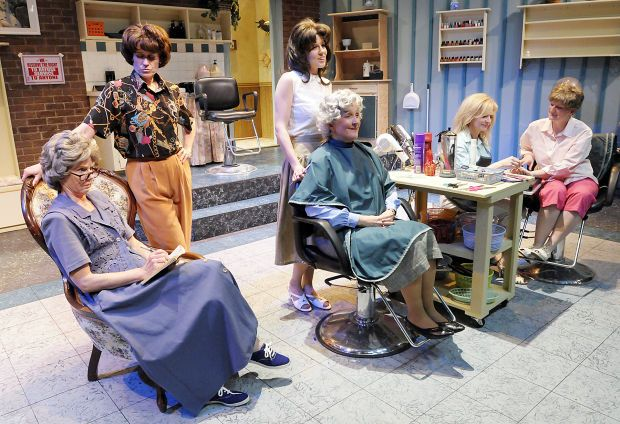 Steel Magnolias emphasizes Southern characters humanity, humor.