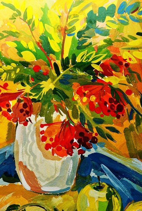 Colourful Flowers Art from $41.99 | www.wallartprints.com.au #StillLifePhotography