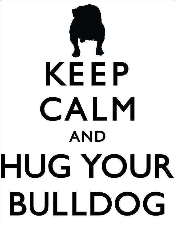 Haha my mom would love this saying lol especially if it said Boxer instead of Bulldog.