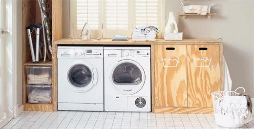 "Er komt een moment dat ook het ""washok"" een morfose krijgt... First things first."