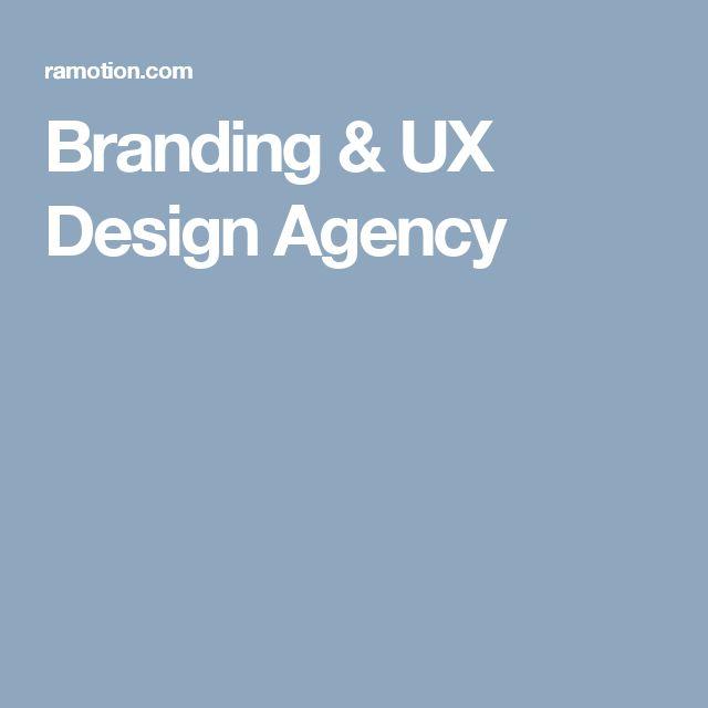 Branding & UX Design Agency