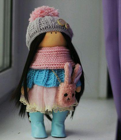 Textile art doll / Куклы тыквоголовки ручной работы. Ярмарка Мастеров - ручная работа. Купить Интерьерная кукла. Handmade. Кукла ручной работы
