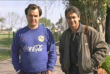 Marcelo Bielsa y Miguel Mejía Barón