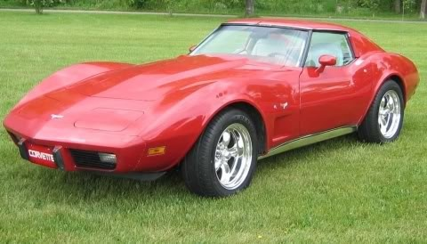 1977 Corvette; always wanted one!