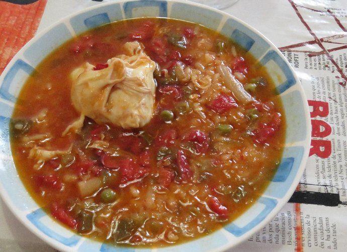 Arroz caldoso de la yaya para #Mycook http://www.mycook.es/cocina/receta/arroz-caldoso-de-la-yaya