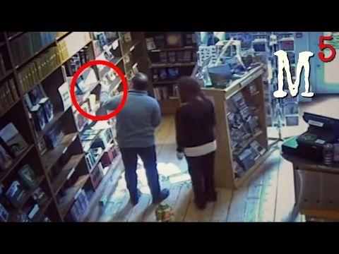 5 Nightmarish Videos of Ghost Caught On CCTV Camera - YouTube