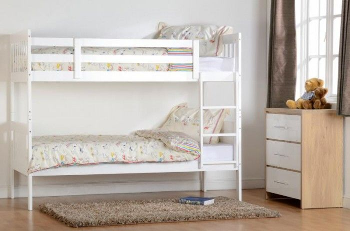 Style Of Kennedy White Bunk Bed Minimalist - Fresh single bunk bed Fresh