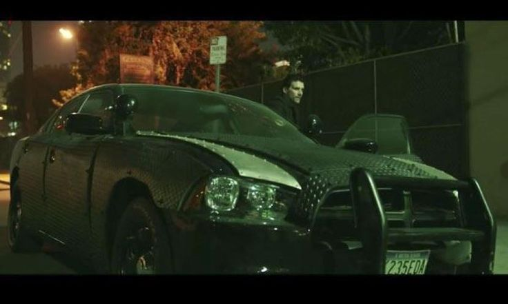 Armor Plating Dodge Charger Purge Anarchy Movie Motor