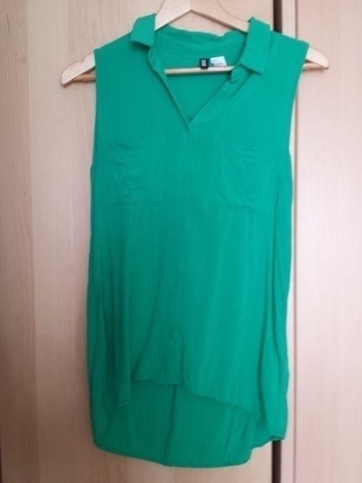 Grüne Bluse von H