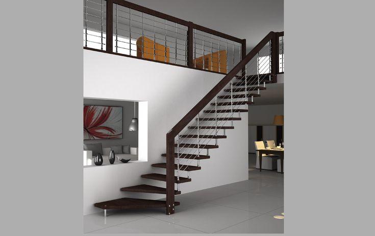 Oltre 25 fantastiche idee su scale metalliche su pinterest - Progettazione scale interne ...