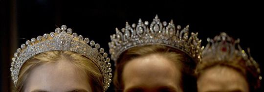 Tiaras that once belonged to mary, Duchess of Roxburghe