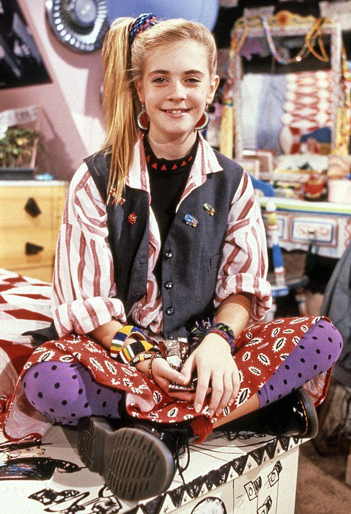 Pin for Later: 20 Fashion Lessons Every '90s Girl Learned From Clarissa Explains It All Don't be afraid of mixing all of the prints you own.