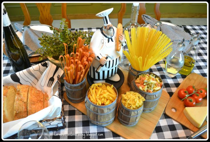 Italian Dinner Tablescape. Reminds me of lady and the tramp! :)