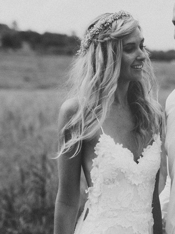 Half up wedding hair is the perfect style for every bride, and here's why…