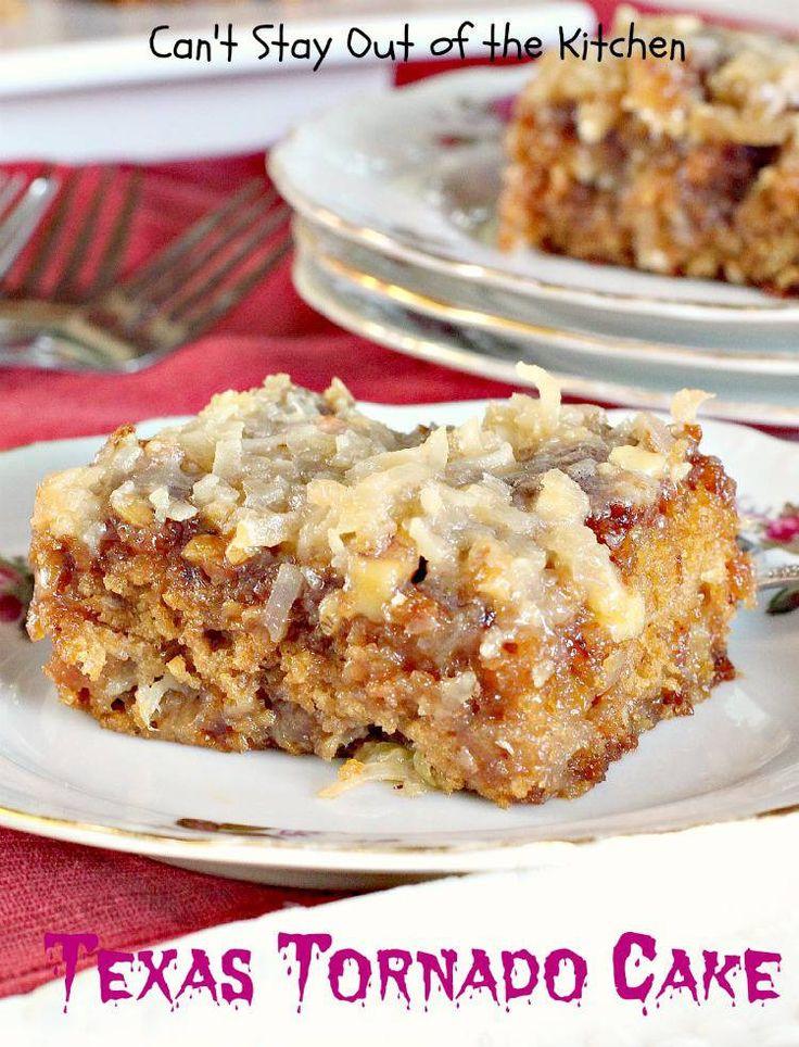 Dangerously Good Texas Tornado Cake | This cake recipe is so good it's DANGEROUS!