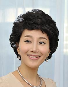 Stylish hairstyle bobbed hair pump  Rachel  NABIBUIN Women curly hair  69,000 won