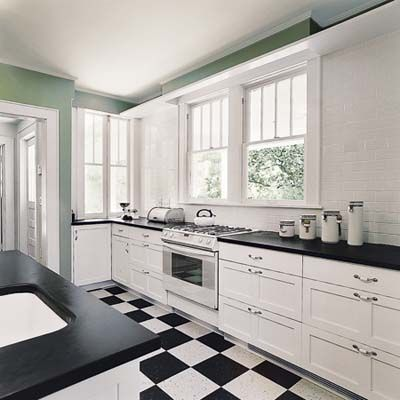 Best 25 white flooring ideas on pinterest for 1920s kitchen floor