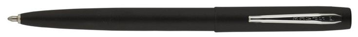 Fisher Cap-O-Matic Space Pen - Matte Black/Chrome Clip