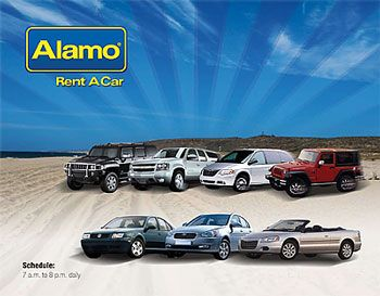 Alamo--one of the best car rental agencies