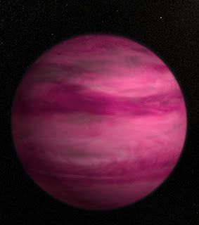 GJ 504b, a rose exoplanet discovered 57 light years from Earth