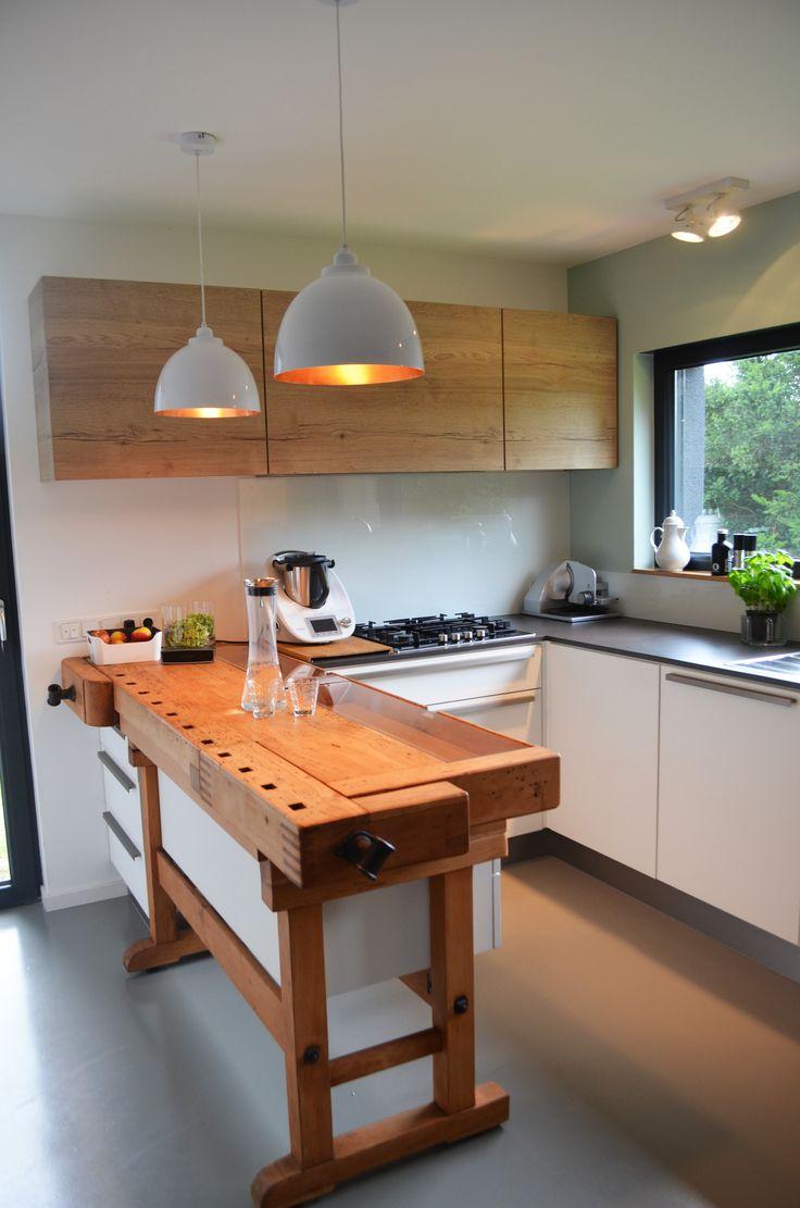 #Hobelbank in der #Küche – gelungene Kombi aus al…