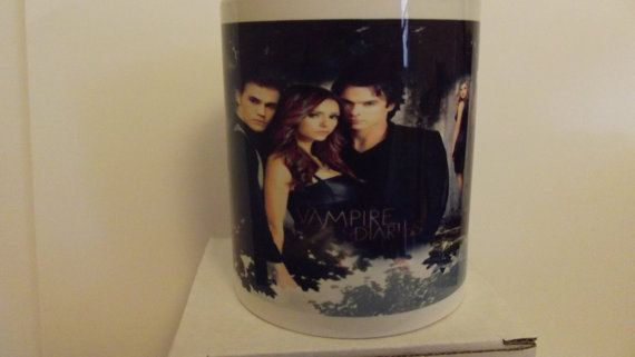 Picture Mug which can be Personalised Vampire Diaries by Mugstuff, £5.00