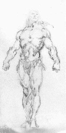 John Buscema sketch.  http://buscemalostdrawings.wordpress.com/