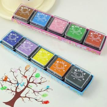 DIY Craft Foam Ink Stamp Pad For Rubber Stamps Paper Wood Kids