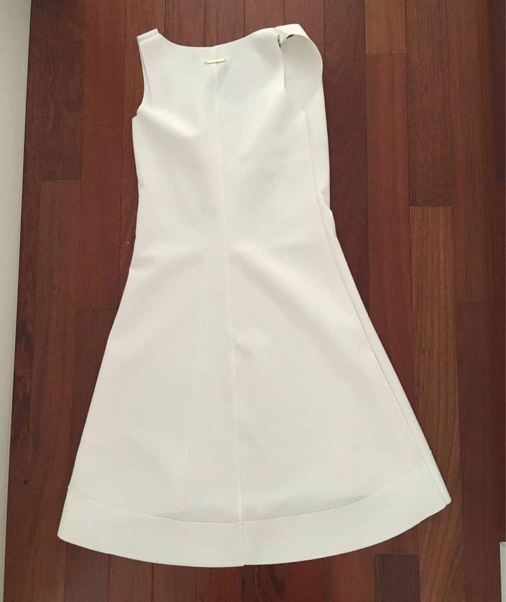 Vestido Branco Malwee - 15912238 | enjoei :p