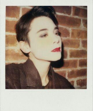 Tony Viramontes - Tina Chow Polaroid Photograph