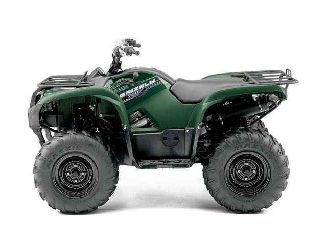 New 2014 Yamaha Grizzly 700 FI Auto. 4x4 ATVs For Sale in Ohio. 2014 YAMAHA Grizzly 700 FI Auto. 4x4 , Grizzly 700: The Ultimate Trail-Taming Trophy Upgrades to this already proven class leader have further established it as your best terrain-conquering, precise-handling choice for durable, reliable performance in almost any condition.