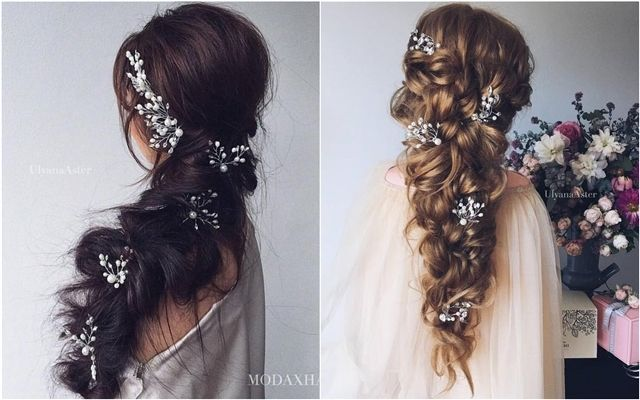 35 Wedding Updo Hairstyles For Long Hair From Ulyana Aster: Best 25+ Hairstyles For Brides Ideas On Pinterest