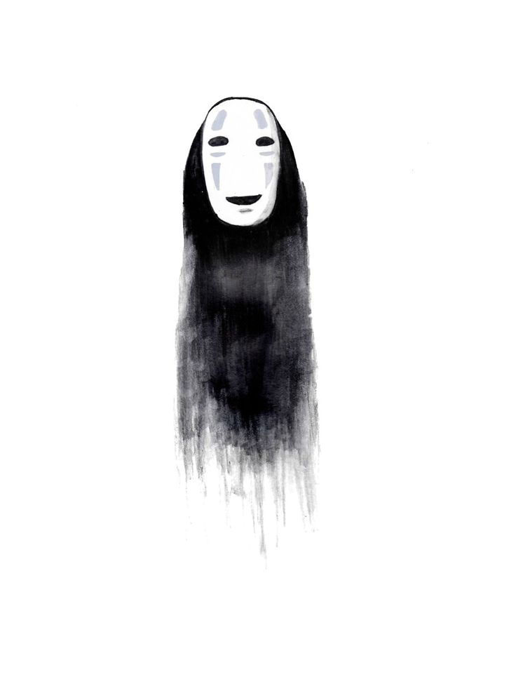 No Face - from miyazaki's spirited away                              …