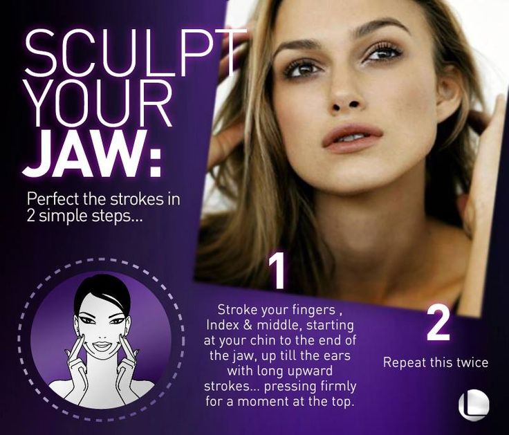 A Sculpted jaw has never been this easy to achieve, we show you how.