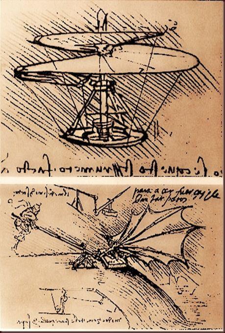 Leonardo da Vinci - Flying Machines