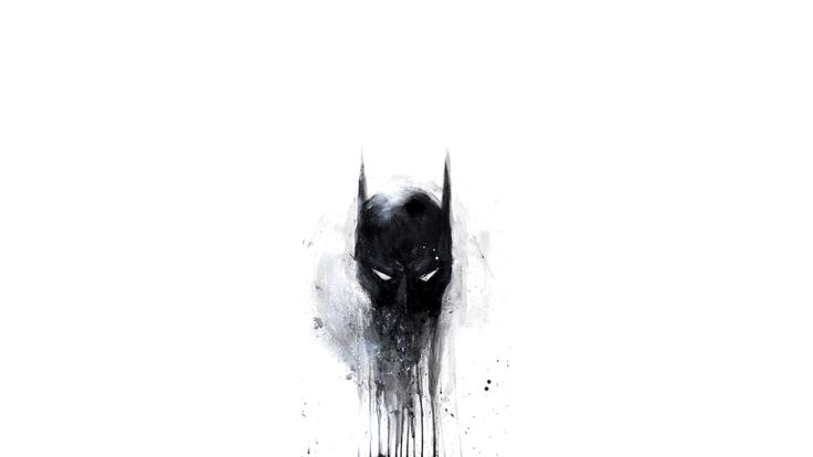Batman Scary Painting
