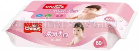 Chiaus Влажные салфетки лаванда 80шт.  — 140р. -----------------  Влажные салфетки Chiaus лаванда (розовая упаковка) 80шт. изготавливаются только из высококачественного сырья и не содержат спирта, асептических средств, флуоресцентных агентов и неочищенной воды.   Это позволяет предотвратить возникновение аллергических реакций у детей. Такие салфетки можно применять при смене подгузников малышам, а также при удалении различных загрязнений. Салфетки не занимают много места, их удобно…