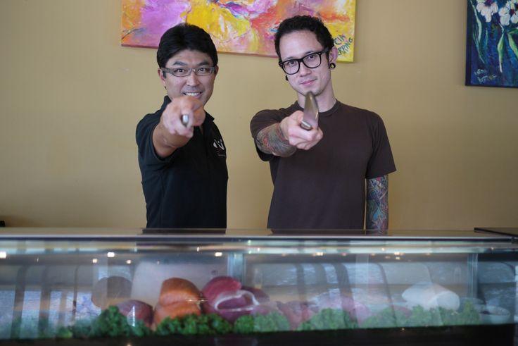Matte heafy and Ken Sakurada (Shin Sushi, Orlando, FL)