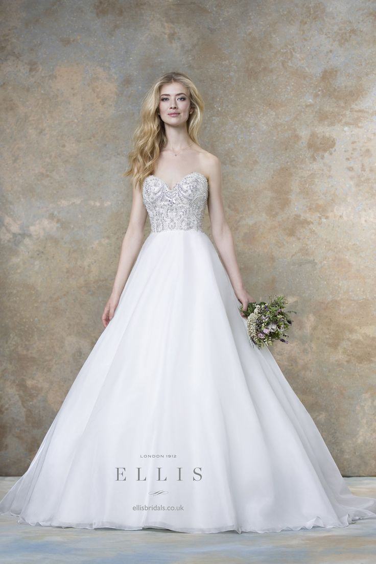 "Ellis Bridals 2016 Wedding Dresses "" Magnolia "" Bridal Collection"