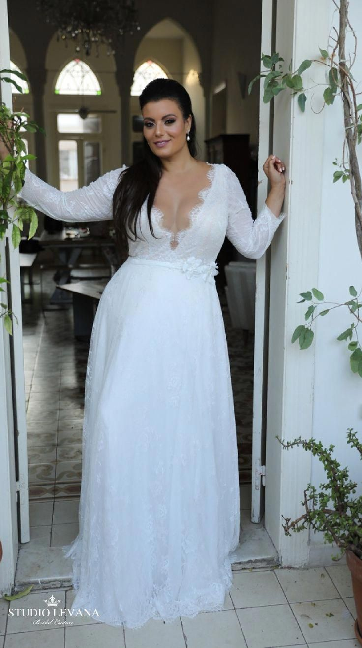 Plus Sized Wedding Dresses Champagne Shape Plussizedweddingdressescasual Plus Wedding Dresses Plus Size Wedding Dresses With Sleeves Wedding Dress Long Sleeve [ 1316 x 736 Pixel ]