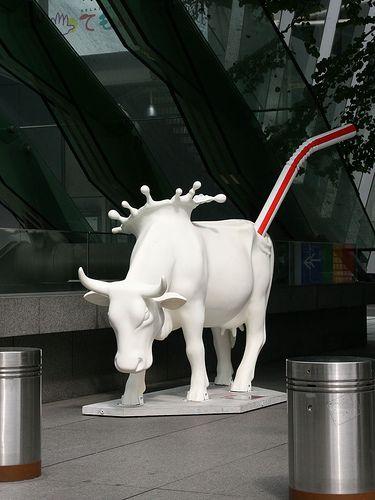 cow parade by ooma90, via Flickr