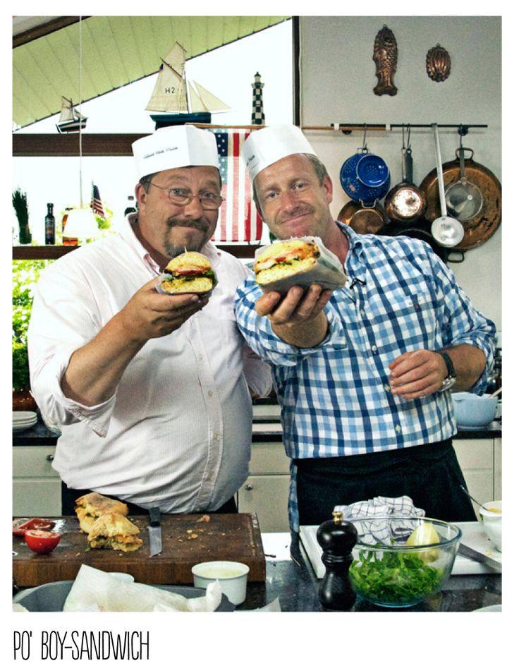 Po' Boy-sandwich - opskrift af Brødrene Price for Silvan
