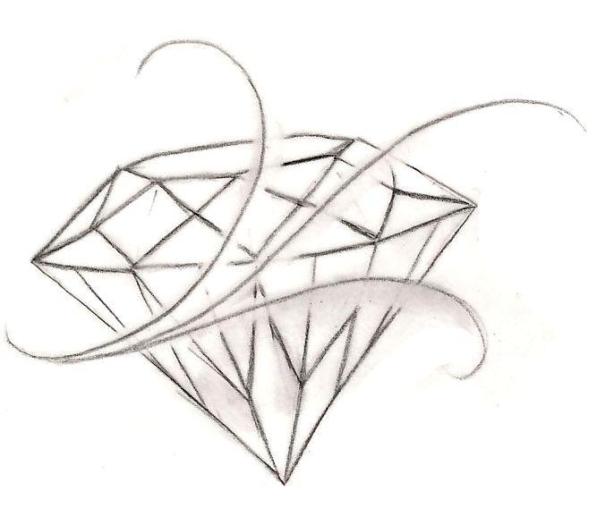 diamond drawing tattoo wwwpixsharkcom images