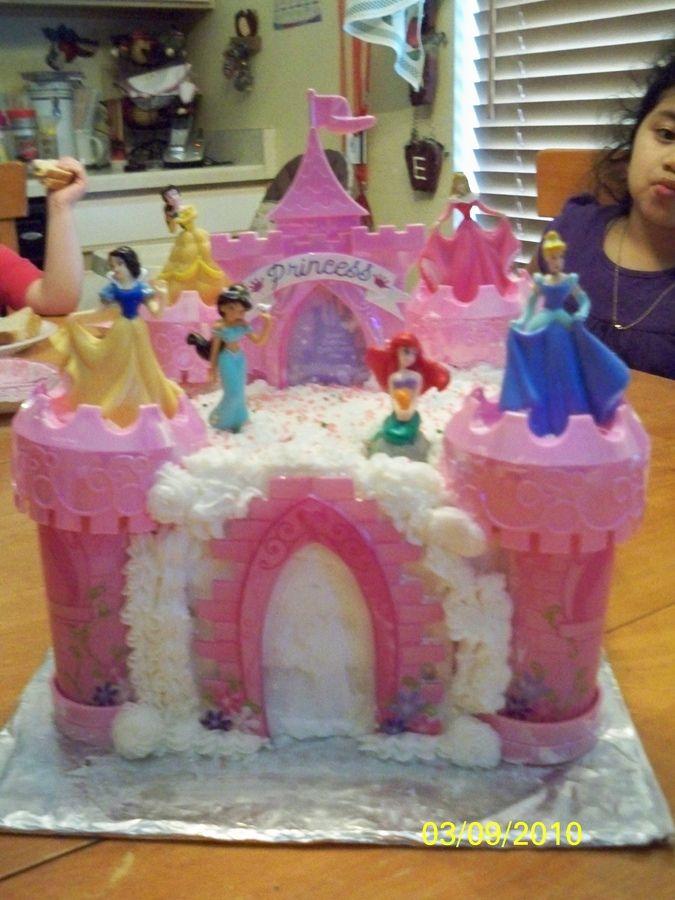 Princess Castle Cake Walmart | Disney Princess Castle Cake — Birthday Cakes