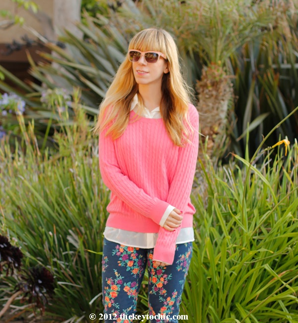 Mossimo floral jeans: Summer Street, A Mini-Saia Jeans, Street Style, Mossimo Floral, Floral Jeans, Stylish Pret