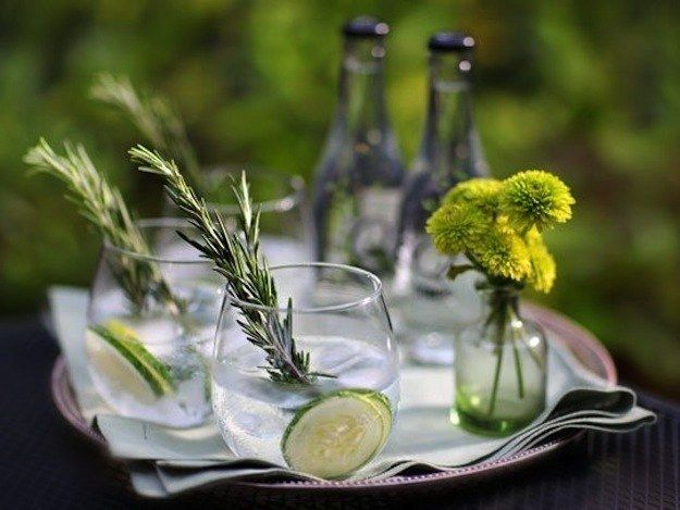 Rosemary Gin and Tonic. | 16 Creative Gin And Tonic Cocktails