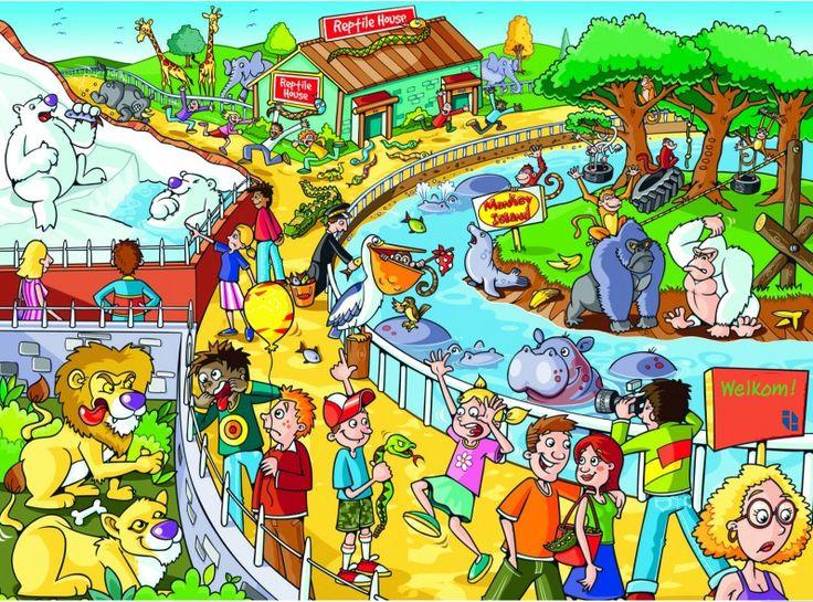*▶ Interactieve praatplaat: De dierentuin!