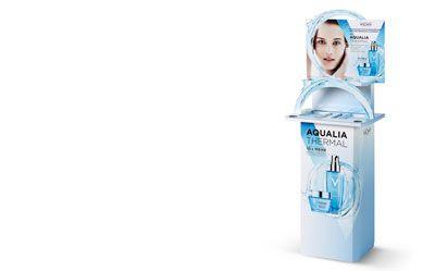 Un expositor para cosméticos que atrapa al consumidor -  Conócelo en http://www.infopack.es/un-expositor-para-cosmeticos-que-atrapa-al-consumidor/materiales-de-envases/717