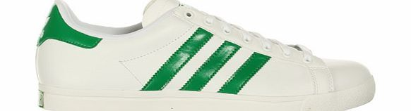 Adidas Court Star White/Green Leather Trainers Adidas Court Star White/Green Leather Trainers Colourway